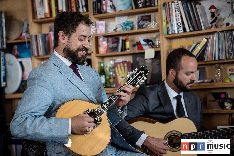 Danilo Brito no Tiny Desk Concert da NPR